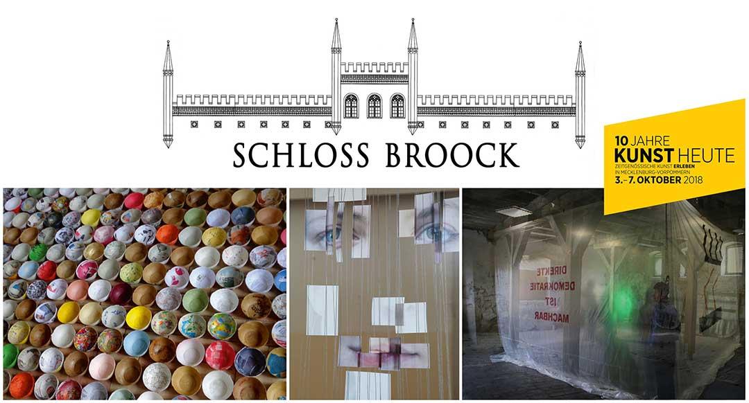 Flyer Kunst Heute Schloss Broock