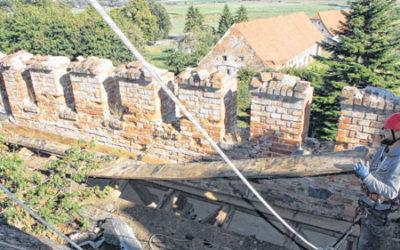 Countdown für Notsicherung: In Broock läuft der Schlossspurt