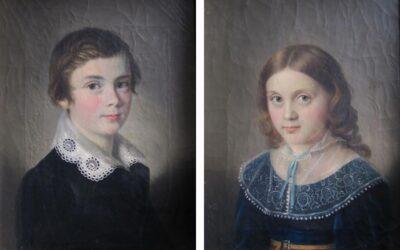 Zwei Kinderbildnisse aus dem Broocker Schloss  und ihre traurige Geschichte