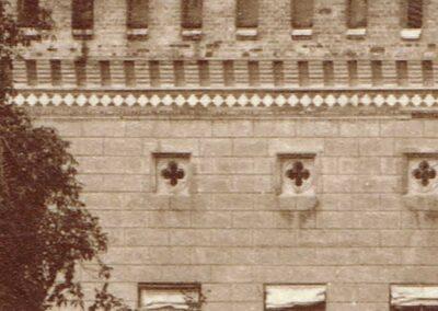 Fassade, Ausschnitt, ca. 1890