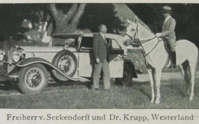 """Hans Freiherr von Seckendorff und der """"Jetset"""" auf Sylt"""