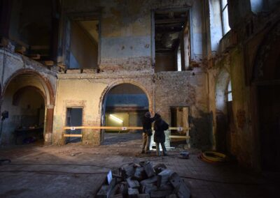 Bauhistorische und restauratorische Untersuchung