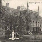 Historische Ansicht Schloss Broock