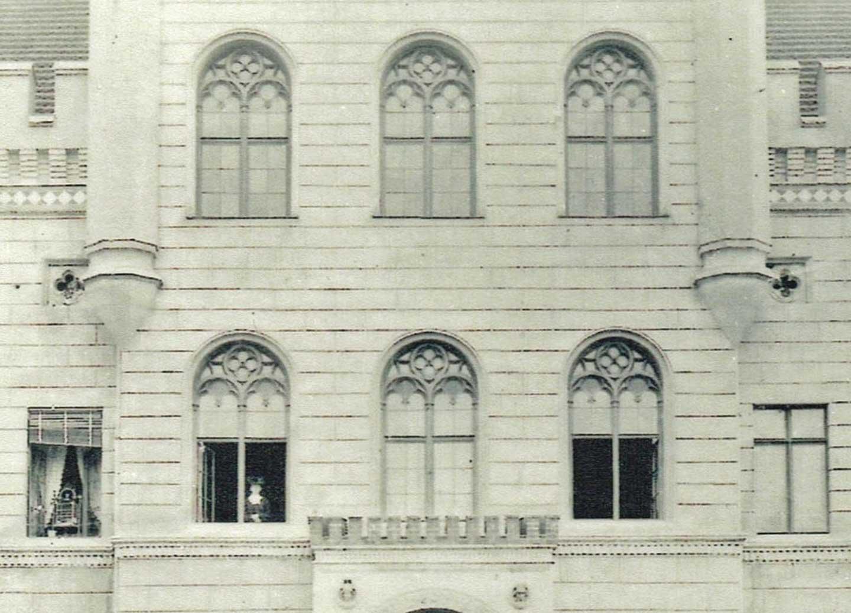Abb. 6: Mittelrisalit, Hofseite, 1904