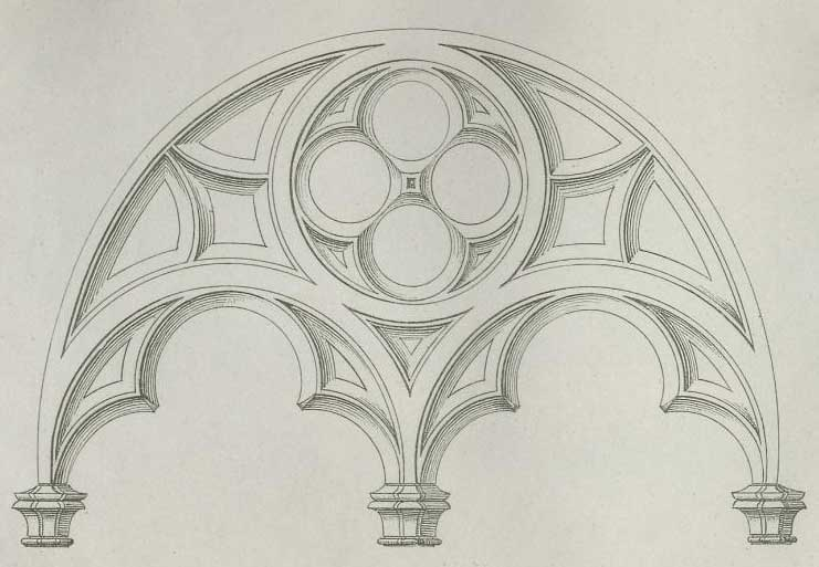 Abb. 7: Maßwerkfenster, Publikation von Moritz Geiß